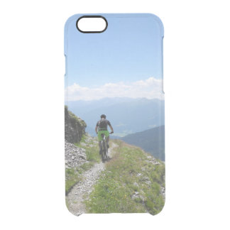 Capa Para iPhone 6/6S Transparente Biking da montanha