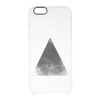 Capa Para iPhone 6/6S Transparente Black Triangle