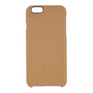 Capa Para iPhone 6/6S Transparente Brown