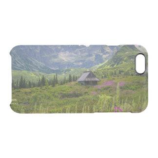 Capa Para iPhone 6/6S Transparente Cabanas da montanha de Hala Gasienicowa