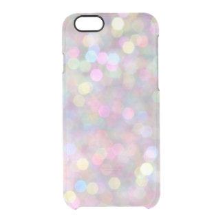 Capa Para iPhone 6/6S Transparente Caixa colorida do iPhone 6/6s das luzes