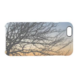 Capa Para iPhone 6/6S Transparente Céu do inclinação no inverno