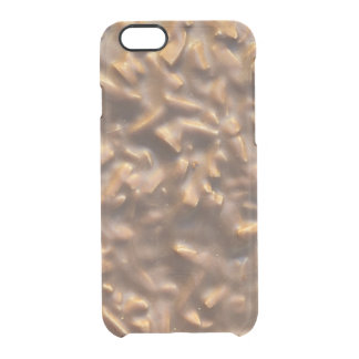 Capa Para iPhone 6/6S Transparente Chocolate robusto