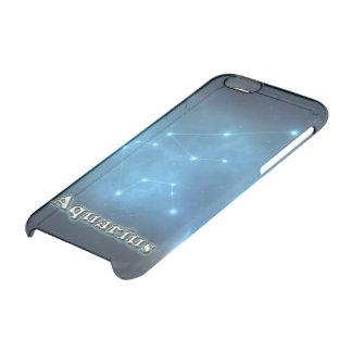 Capa Para iPhone 6/6S Transparente Constelação do Aquário