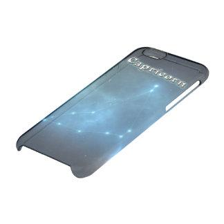 Capa Para iPhone 6/6S Transparente Constelação do Capricórnio