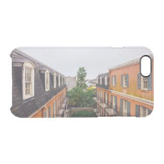 Capa Para iPhone 6/6S Transparente Construções e palmeiras em Nova Orleães