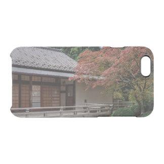 Capa Para iPhone 6/6S Transparente Cores da queda no jardim