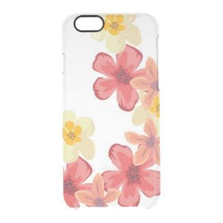 Capa Para iPhone 6/6S Transparente Defletor C do iPhone 6/6s Clearly™ da flor da