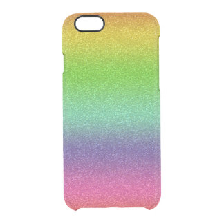 Capa Para iPhone 6/6S Transparente Defletor de Clearly™ do iPhone da textura do