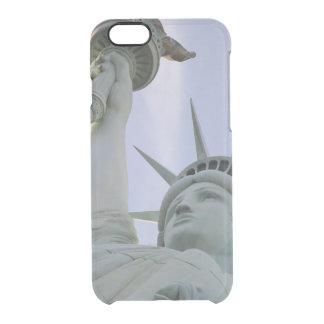 Capa Para iPhone 6/6S Transparente Estátua da liberdade