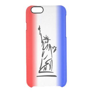 Capa Para iPhone 6/6S Transparente Estátua da liberdade New York