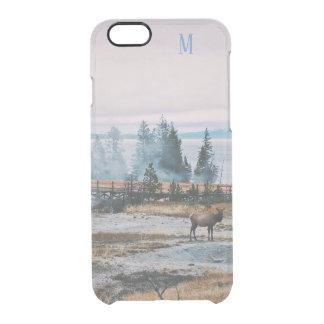 Capa Para iPhone 6/6S Transparente Feriados feitos sob encomenda da alegria da rena