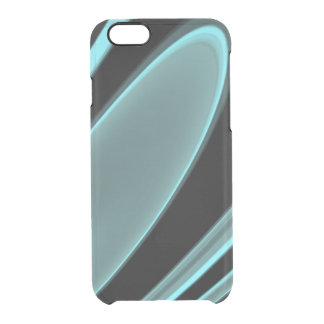 Capa Para iPhone 6/6S Transparente Flutuador do Aqua