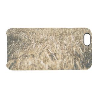 Capa Para iPhone 6/6S Transparente Foto da fazenda do close up do campo de trigo do