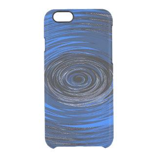 Capa Para iPhone 6/6S Transparente Furacão azul
