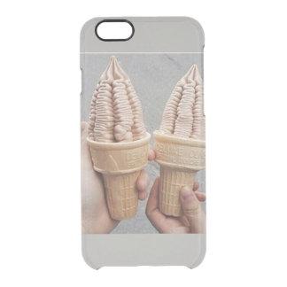 Capa Para iPhone 6/6S Transparente gelado