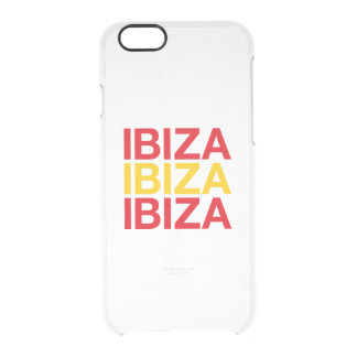 CAPA PARA iPhone 6/6S TRANSPARENTE IBIZA
