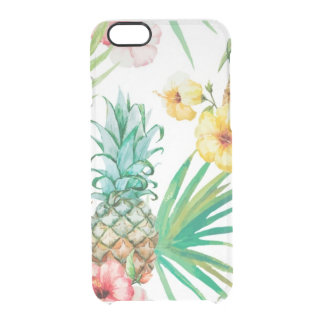 Capa Para iPhone 6/6S Transparente iPhone tropical 6/6s Clearly™ Def de Havaí do
