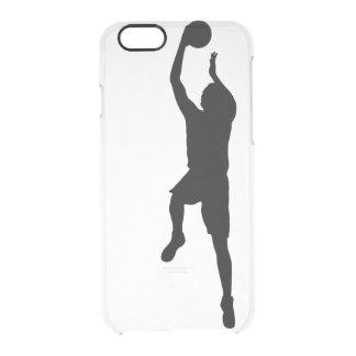 Capa Para iPhone 6/6S Transparente Jogador de basquetebol