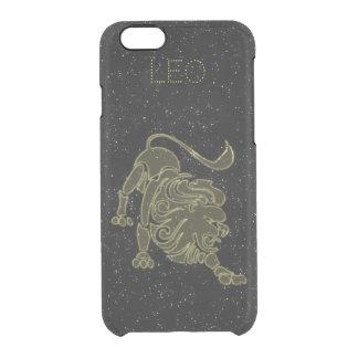 Capa Para iPhone 6/6S Transparente Leo brilhante