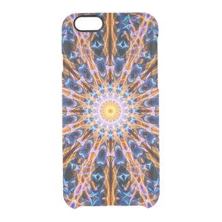 Capa Para iPhone 6/6S Transparente Mandala da estrela da alquimia
