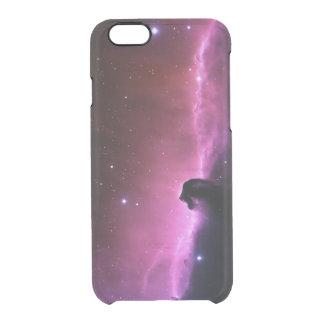 Capa Para iPhone 6/6S Transparente Nebulosa de surpresa de Horsehead