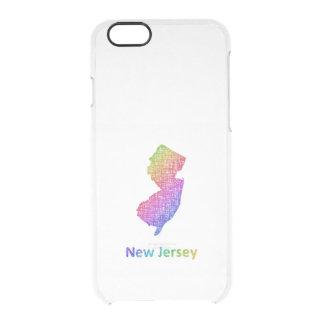 Capa Para iPhone 6/6S Transparente New-jersey