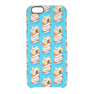 Capa Para iPhone 6/6S Transparente Noite japonesa do sushi para o buldogue francês