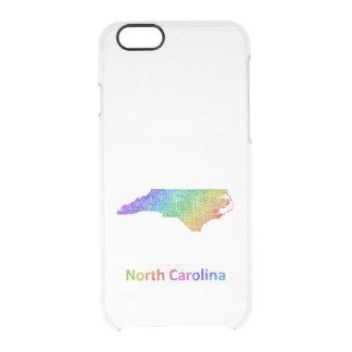 Capa Para iPhone 6/6S Transparente North Carolina