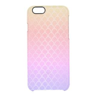Capa Para iPhone 6/6S Transparente O amarelo cor-de-rosa Ombre do ouro do Lilac da