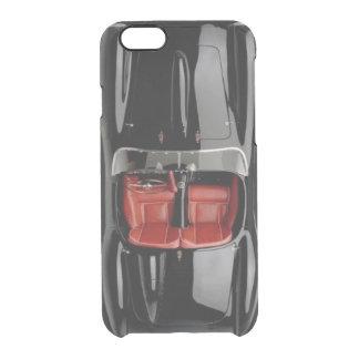 Capa Para iPhone 6/6S Transparente O iPhone 6/6S do preto do carro de esportes