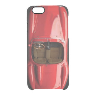 Capa Para iPhone 6/6S Transparente O iPhone vermelho 6/6S do carro de esportes