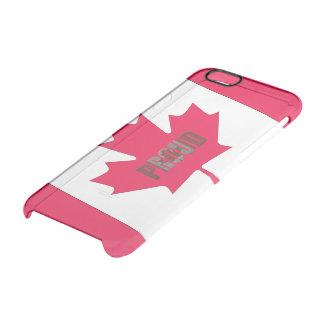 Capa Para iPhone 6/6S Transparente Orgulhoso canadense