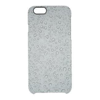 Capa Para iPhone 6/6S Transparente Pingos de chuva
