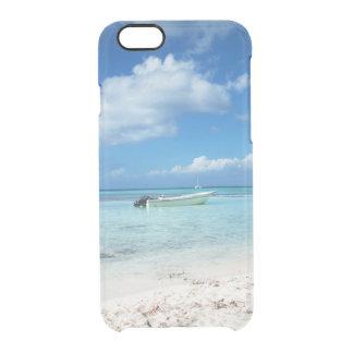 Capa Para iPhone 6/6S Transparente Praia de Domenicana