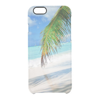 Capa Para iPhone 6/6S Transparente Praia de Domenicana