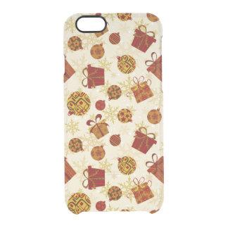 Capa Para iPhone 6/6S Transparente Presentes de época natalícia & enfeites de natal