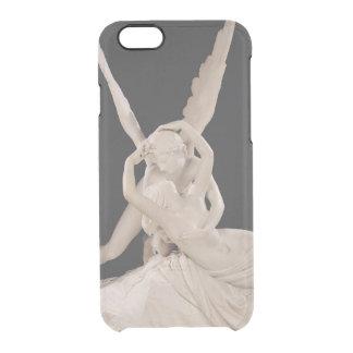 Capa Para iPhone 6/6S Transparente Psique Revived pelo beijo do Cupido 1787-93