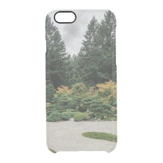 Capa Para iPhone 6/6S Transparente Relaxe em um jardim japonês