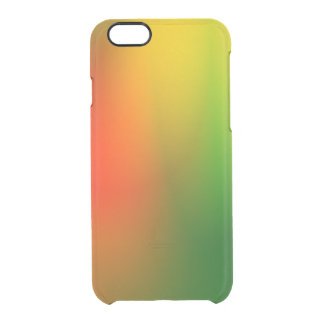 Capa Para iPhone 6/6S Transparente Respingo de Rasta da cor