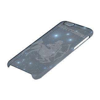 Capa Para iPhone 6/6S Transparente Sagitário transparente