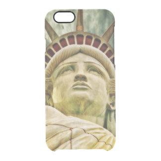 Capa Para iPhone 6/6S Transparente Senhora Liberdade, estátua da liberdade