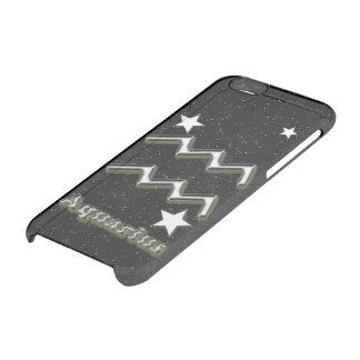 Capa Para iPhone 6/6S Transparente Símbolo do Aquário