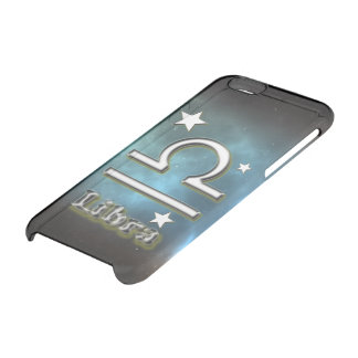 Capa Para iPhone 6/6S Transparente Símbolo do Libra