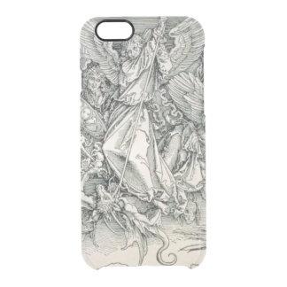 Capa Para iPhone 6/6S Transparente St Michael que luta com o dragão