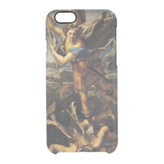 Capa Para iPhone 6/6S Transparente St Michael que oprime o demónio, 1518