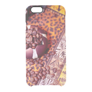 Capa Para iPhone 6/6S Transparente tempo do café