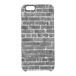 Capa Para iPhone 6/6S Transparente Teste padrão legal da textura da parede de tijolo