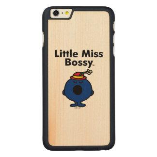 Capa Para iPhone 6 Plus De Bordo, Carved A senhorita pequena pequena Bossy da senhorita | é
