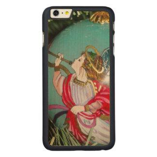 Capa Para iPhone 6 Plus De Bordo, Carved Anjo do Natal - arte do Natal - decorações do anjo